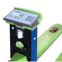 Dini Argeo | TPW E-Force Trade Approved Electric Pallet Truck Scale | Oneweigh.co.uk
